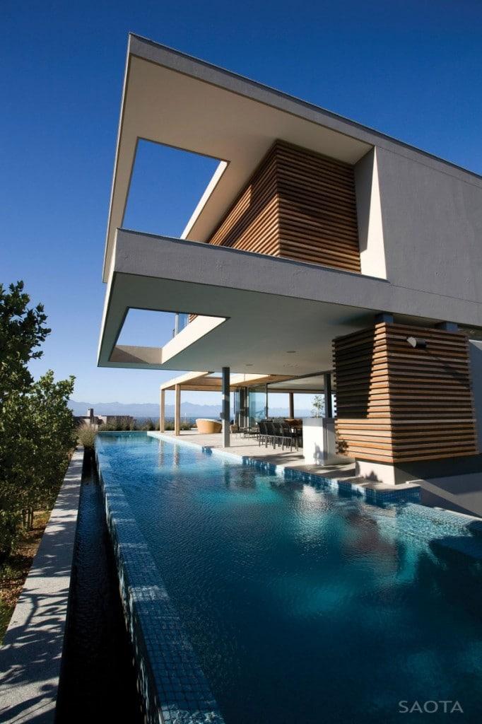 La villa plett avec piscine incroyable
