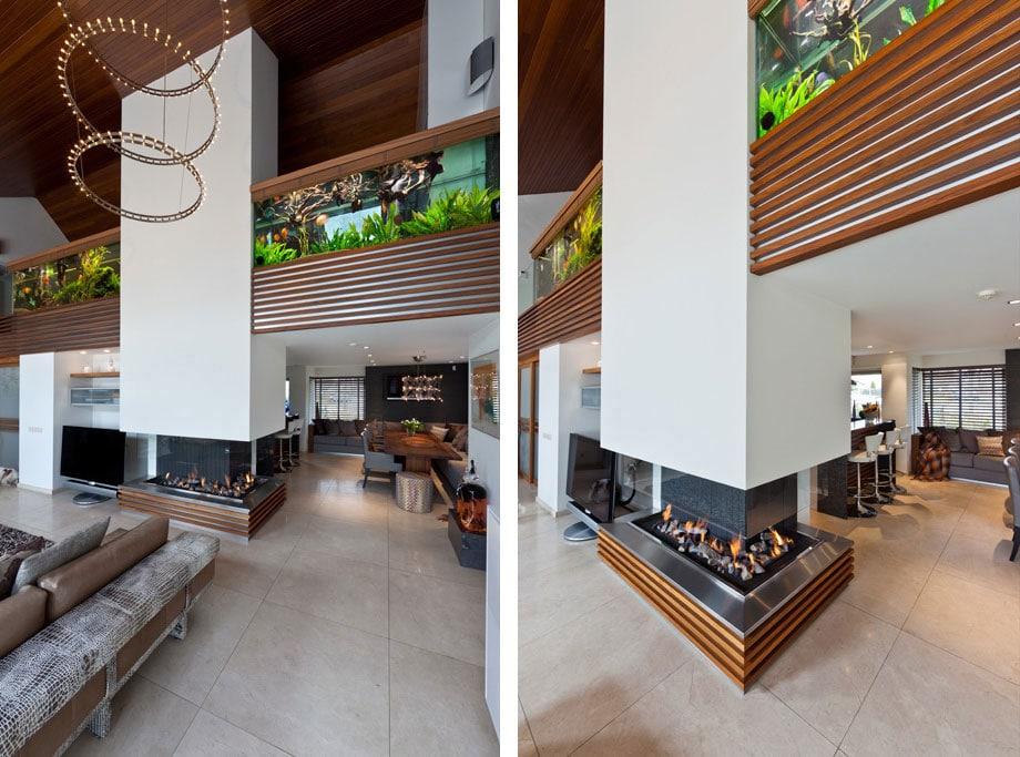 La villa aux aquariums par centric design group moderne - La maison ah au bresil par le studio guilherme torres ...