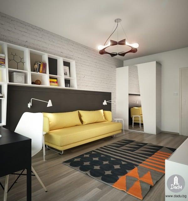 6 chambres que votre adolescent va adorer - Chambre moderne ado ...