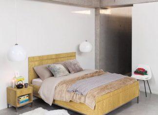 Une chambre à l'inspiration contemporaine chez Maisons du Monde