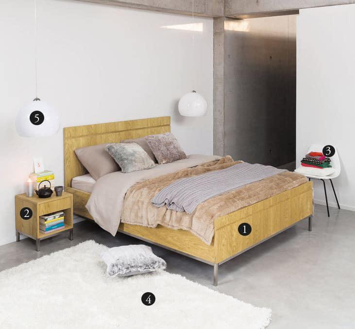Chambre inspiration moderne Maison du Monde