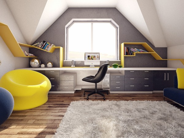 6 chambres que votre adolescent va adorer. Black Bedroom Furniture Sets. Home Design Ideas