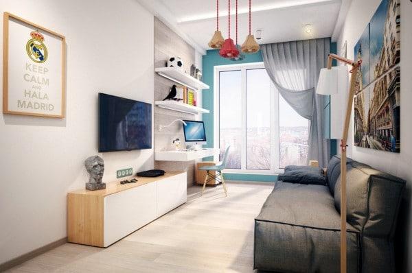 6 chambres que votre adolescent va adorer - Gagner de la place dans un studio ...