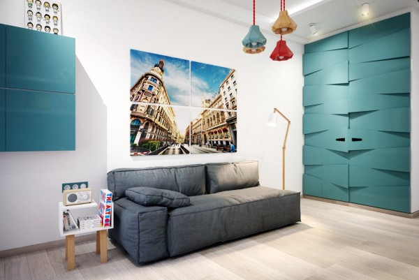 6 chambres que votre adolescent va adorer for Petit canape pour chambre ado