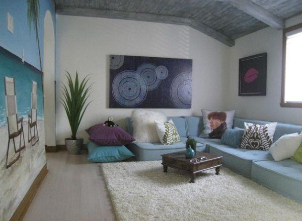 Id es d 39 oreillers et coussins de sol pour votre int rieur for Floor cushion seating ideas