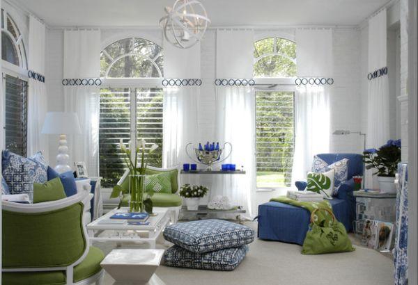 Les oreillers de sol pour compléter la décoration du salon