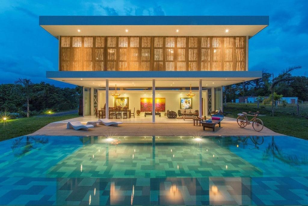 Colombie la sompteuse villa gallery par gm arquitectos - Maison s par domenack arquitectos ...
