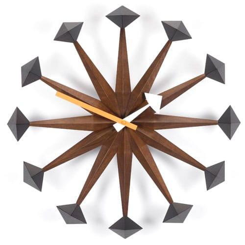 Horloge Vitra Polygon par Georges Nelson