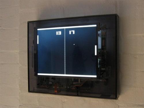L'horloge Ping-Pong par Sander Mulder