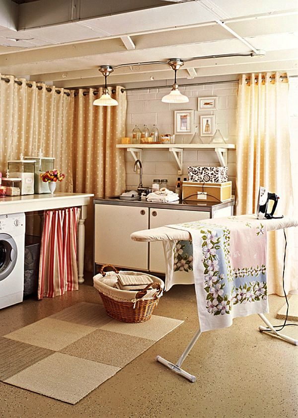 am nagement buanderie 40 id es entre praticit et esth tisme. Black Bedroom Furniture Sets. Home Design Ideas