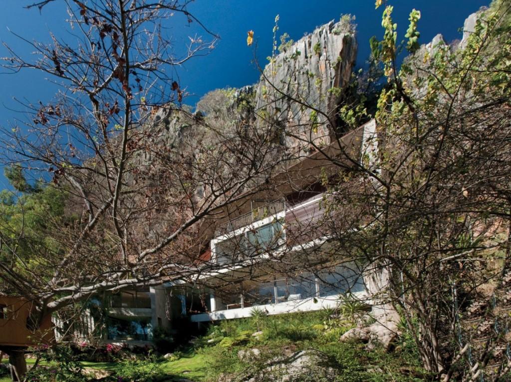 Mexique une maison l 39 architecture tr s originale par r for Architecture originale maison