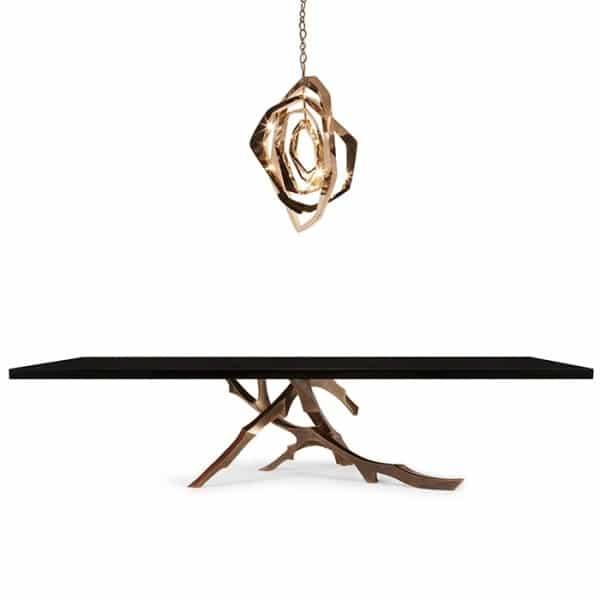 La table grolier par hudson furniture - Maison twin megaphones par latelier tekuto ...