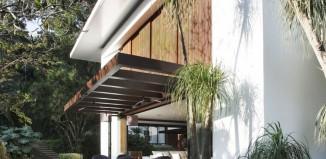 Maison moderne Tempo au Brésil