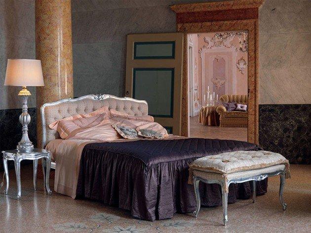 Chambre baroque style très royal