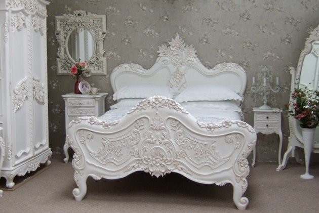 41 id es d co de chambre baroque entre luxe et glamour. Black Bedroom Furniture Sets. Home Design Ideas