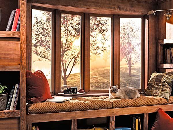 les fen tres sur mesure o comment embellir sa maison moderne house 1001 photos. Black Bedroom Furniture Sets. Home Design Ideas