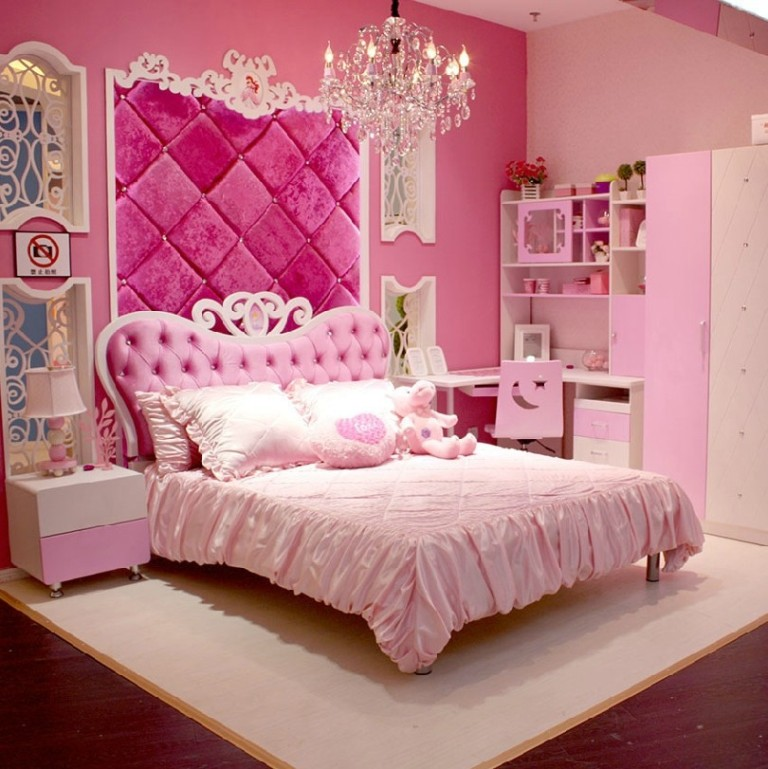 Chambre ado fille 40 id es d co qui vont vous faire for Dep decoration interieur
