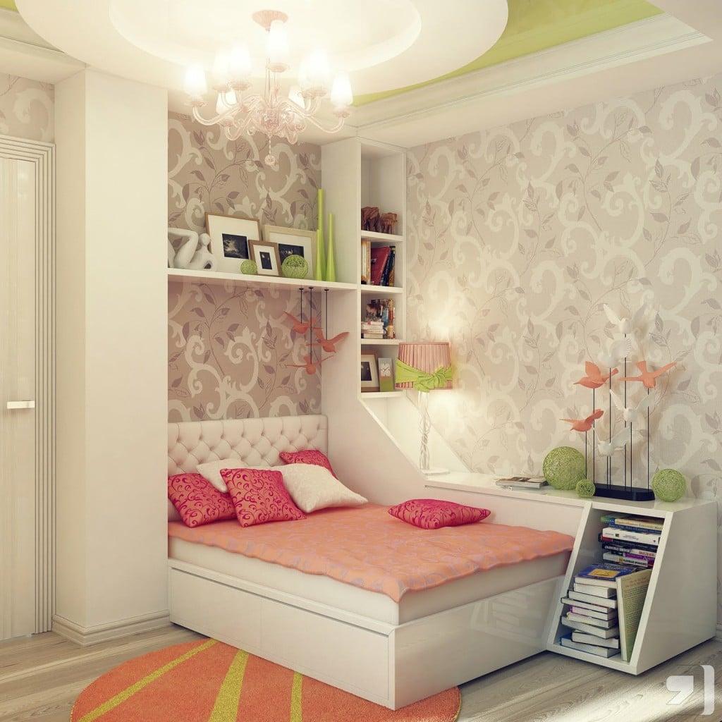 Chambre De Fille Moderne