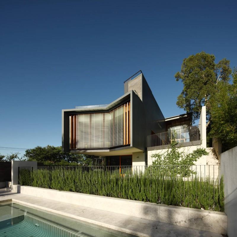Le top des maisons modernes villas de r ve et maisons design - La residence kitchel par boora architects ...