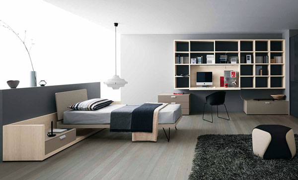 quelle est la meilleure couleur pour une chambre d 39 adolescent moderne house 1001 photos. Black Bedroom Furniture Sets. Home Design Ideas