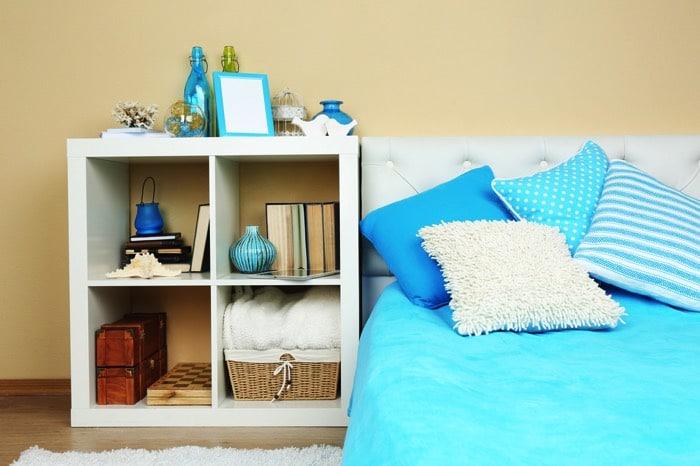 Deco chambre bebe marron et bleu salon bleu turquoise et for Chambre bleu marron