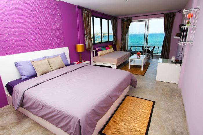Chambre adulte violet great deco du violet pour une - Chambre adulte violet ...