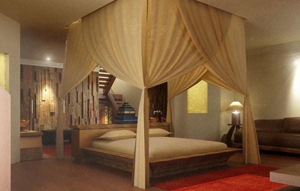 16 chambres d cor es dans un style romantique. Black Bedroom Furniture Sets. Home Design Ideas