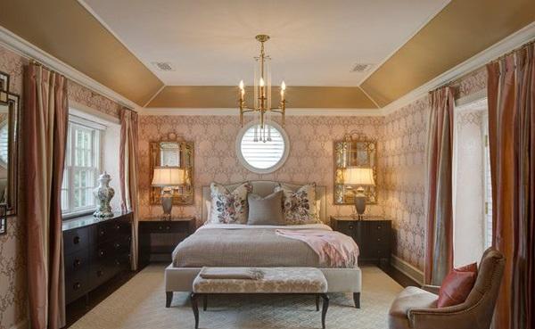 décoration chambre baroque romantique