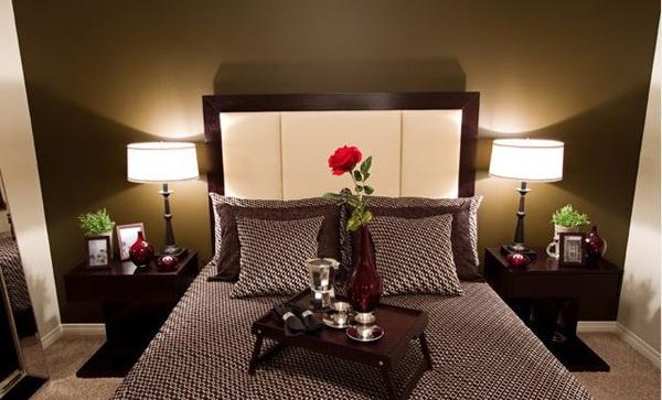 16 chambres d cor es dans un style romantique for Idee deco chambre couple