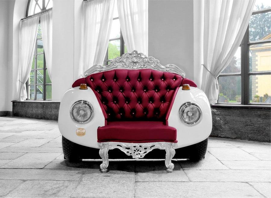 Le fauteuil glamour Beetle Un style original baroque