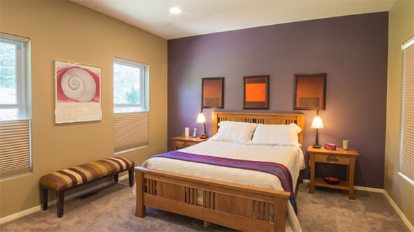 Chambre Violet Beige - home decor photos gallery