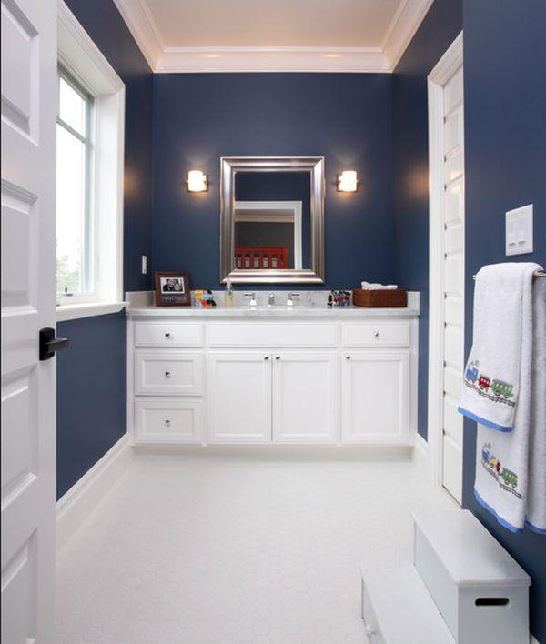 salle de bain enfant 23 id es originales pour votre d co. Black Bedroom Furniture Sets. Home Design Ideas