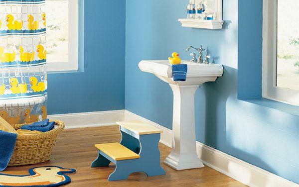idée salle de bain thème canard