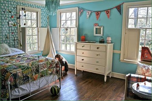 Quelques idées vintage pour une chambre dadolescente - Moderne House ...