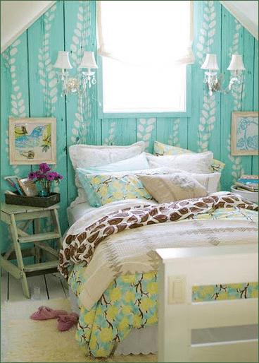 Quelques idées vintage pour une chambre d\'adolescente