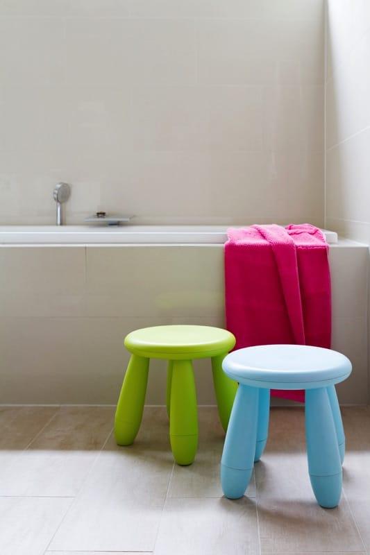 Salle de bain enfant 23 id es originales pour votre d co - Salle de bain pour enfant ...