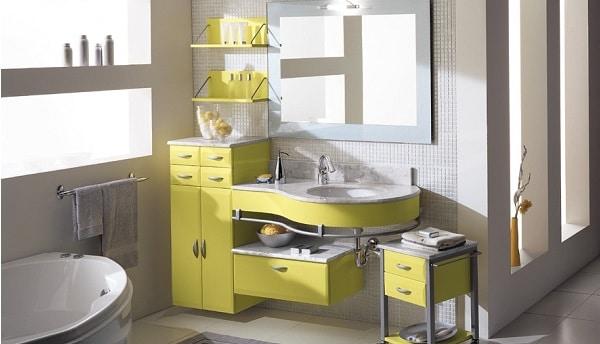 les meilleures couleurs pour peindre une petite salle de bain peu lumineuse moderne house. Black Bedroom Furniture Sets. Home Design Ideas