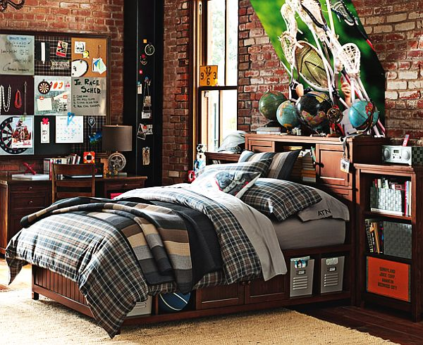 Chambre Ado Style Industriel. Full Size Of Moderne Und Incroyable ...