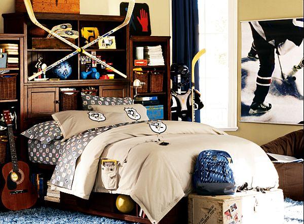 Id e de chambre ado gar on 29 id es pour une super d co for Decoration chambre hockey