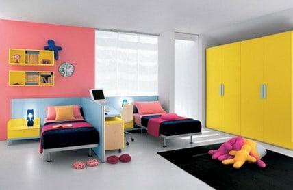 quelques astuces pour d corer une chambre pour deux filles. Black Bedroom Furniture Sets. Home Design Ideas