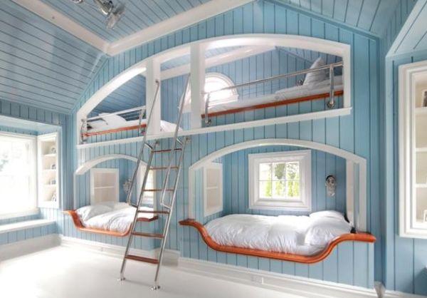 lit moderne superpos 50 id es pour vous inspirer. Black Bedroom Furniture Sets. Home Design Ideas