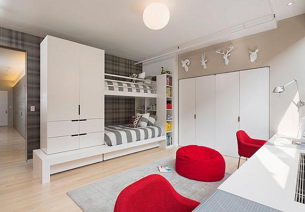 Lit moderne superpos 50 id es pour vous inspirer - Fabriquer des lits superposes ...