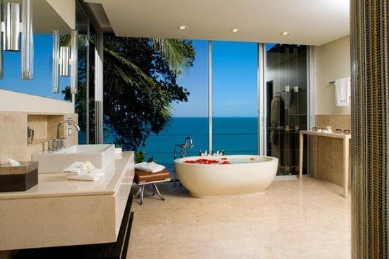 Salle De Bain Beige Et Bleu : Beige Bathroom Design Ideas