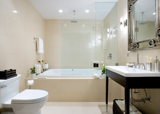 salle de bains beige 43 id es pour vous inspirer. Black Bedroom Furniture Sets. Home Design Ideas