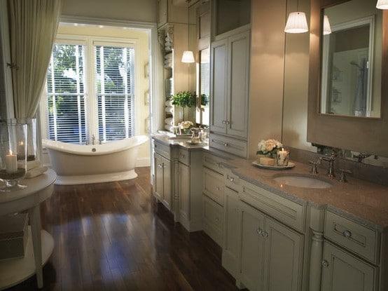 Salle de bain beige: 91 idées relaxantes et envoûtantes