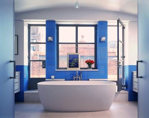 Salle de bain bleue : 101 idées originales pour votre déco !