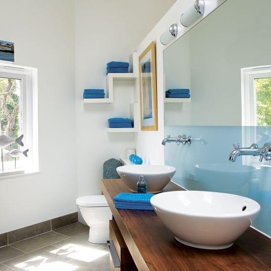 Salle De Bain Bleue : Salle de bain bleue idées originales pour votre déco