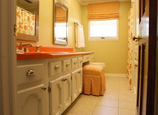 idee-salle-de-bain-orange-25