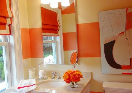 idee-salle-de-bain-orange-26
