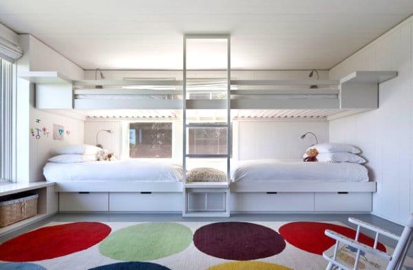 Le lit mezzanine nos id es pour un int rieur moderne - Lit mezzanine moderne ...